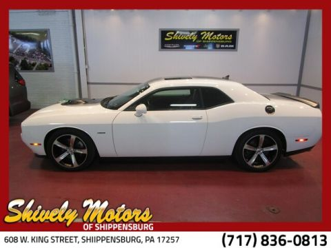 Certified Pre-Owned 2015 Dodge Challenger SXT Plus or R/T Plus